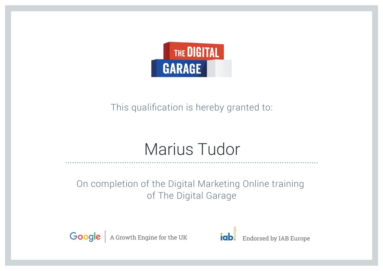 Google Digital Garage Certificate Marius Tudorpdf Docdroid