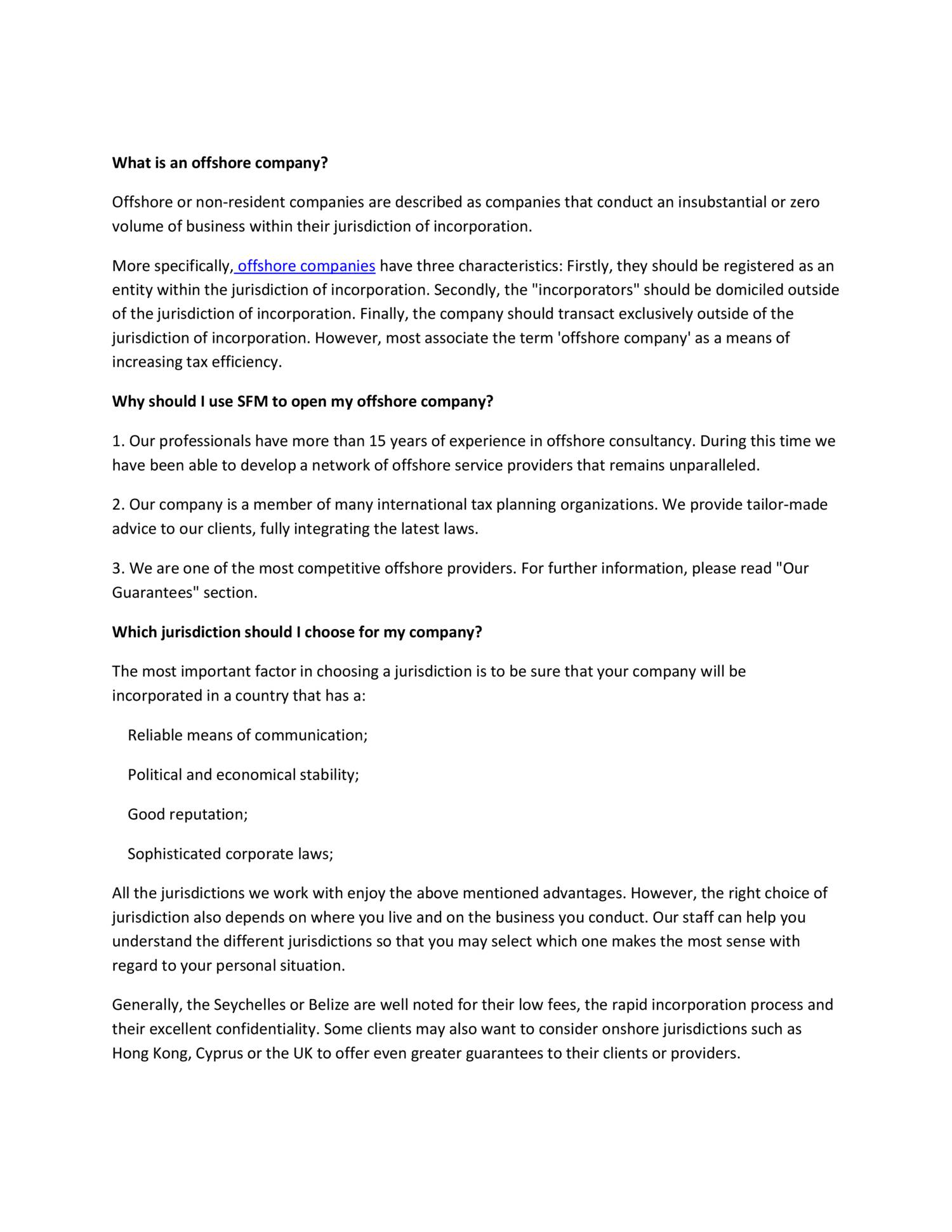 faqs regarding SFM offshore company formation.pdf | DocDroid