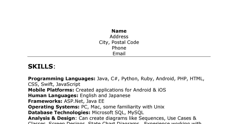 Anon Resume docx | DocDroid