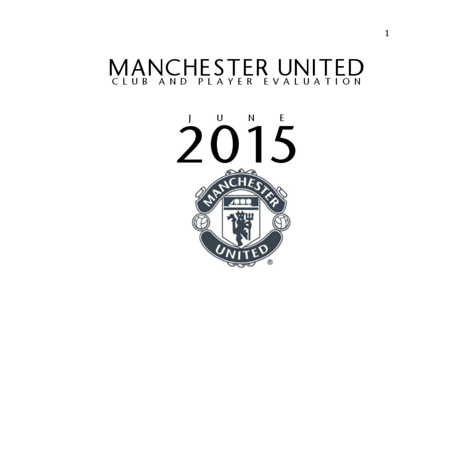 Manchester United Club Analysis Report