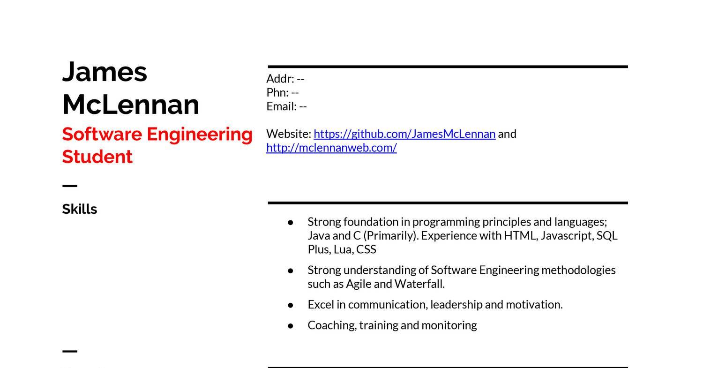 Resume-JamesMcLennan docx (1) pdf | DocDroid
