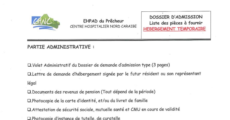 lettre demande d admission maison de retraite  u2013 ventana blog
