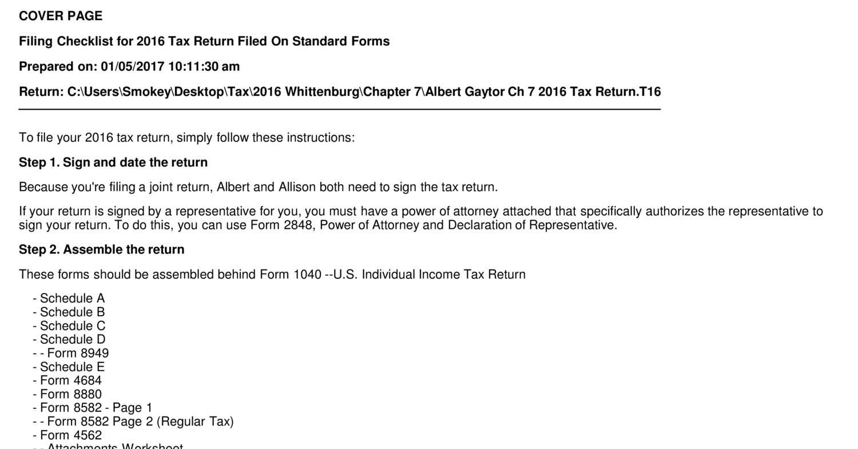 Albert Gaytor Ch 7 2016 Tax Return_T16_For_Filing pdf | DocDroid