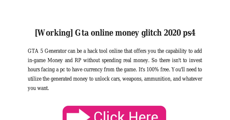 グリッチ 2020 gta5