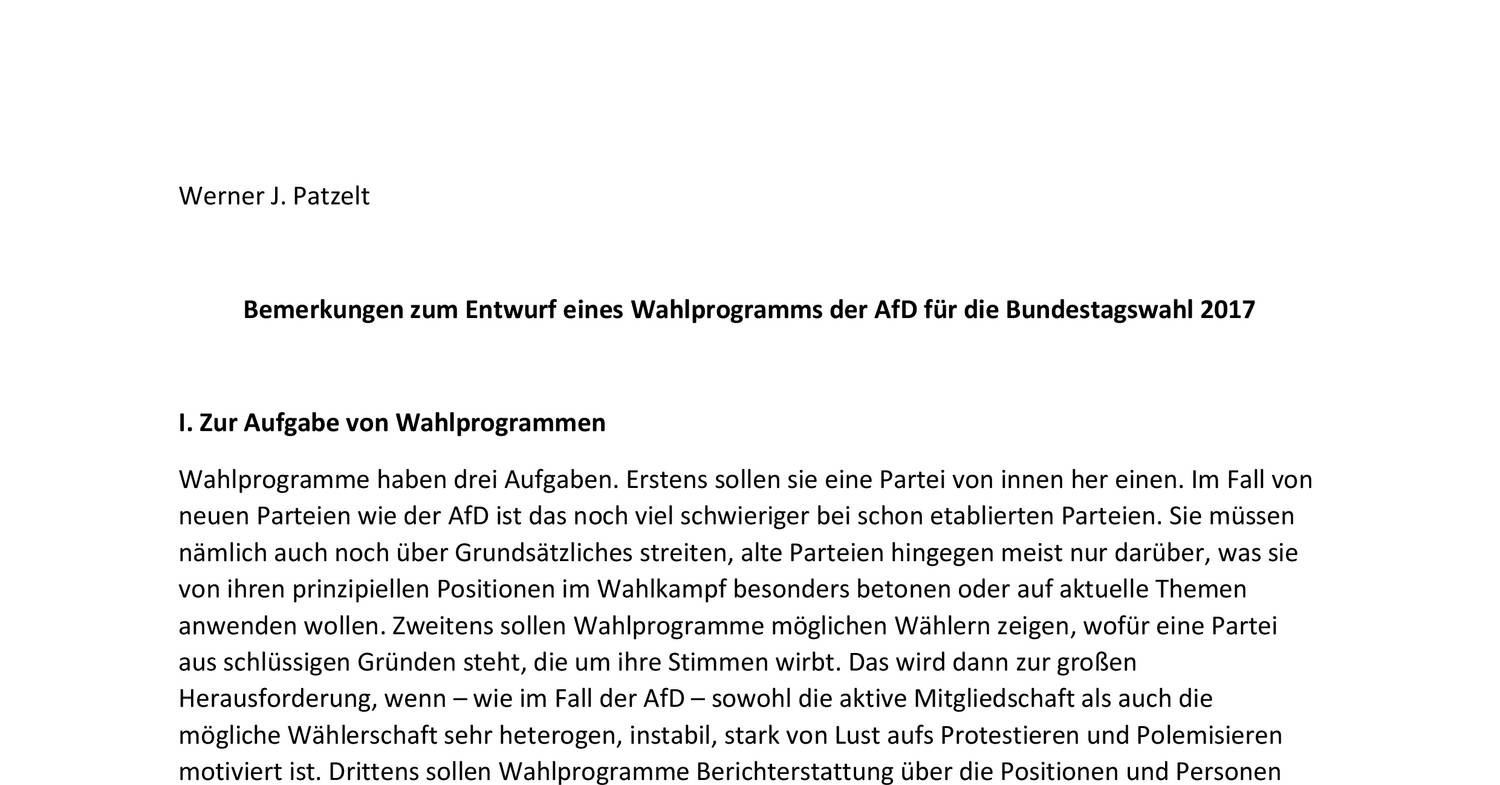 Afd Analyse