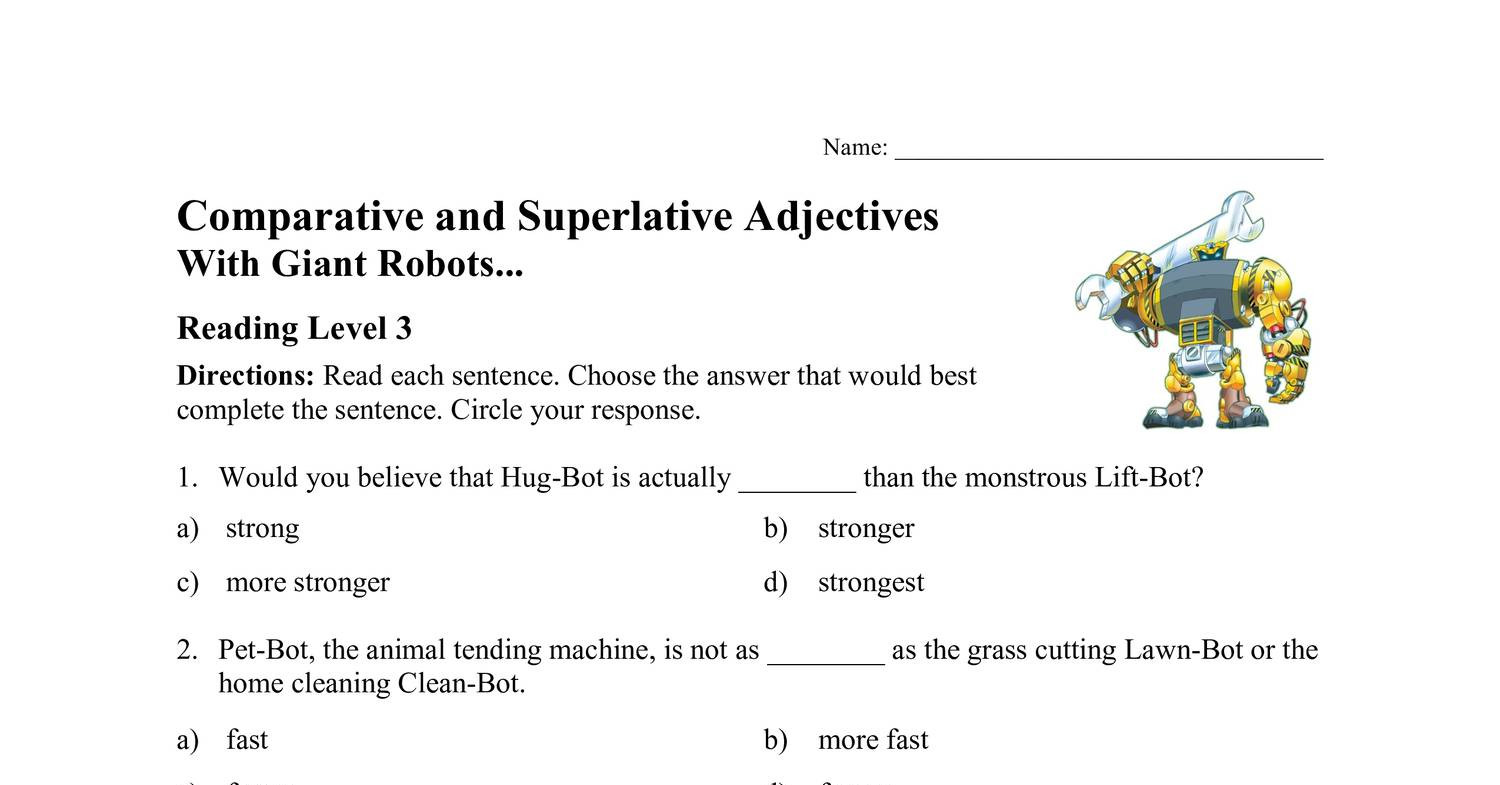 Week 20 Comp and Superlative Adjectives.pdf   DocDroid
