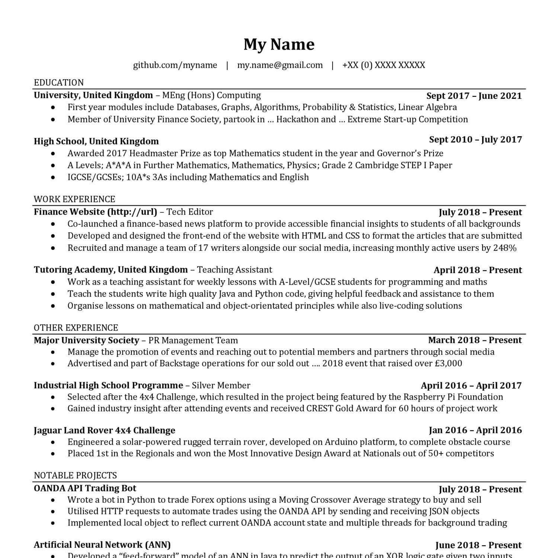 Anon Resume pdf | DocDroid