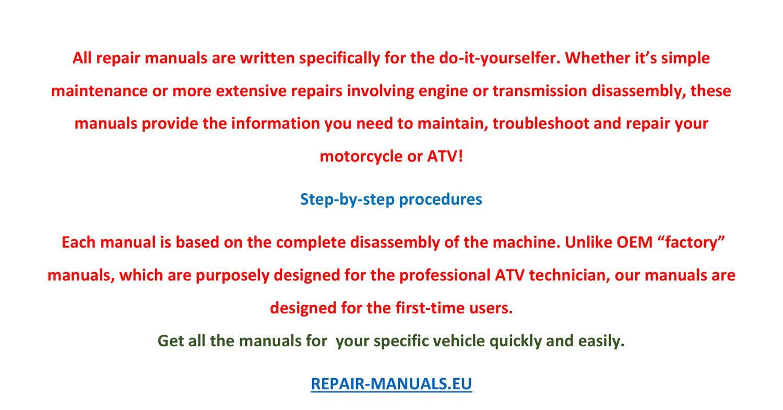 ATV repair manuals free download.pdf | DocDroid
