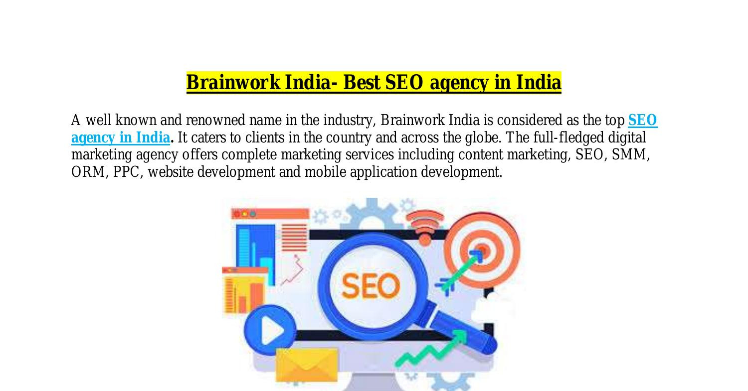 Brainwork India- Best SEO agency in India