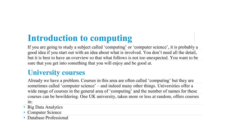 OCR Computing A Level Textbook pdf | DocDroid