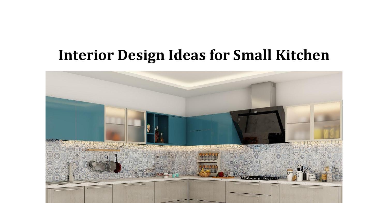 Interior Design Ideas for Small Kitchen.pdf  DocDroid