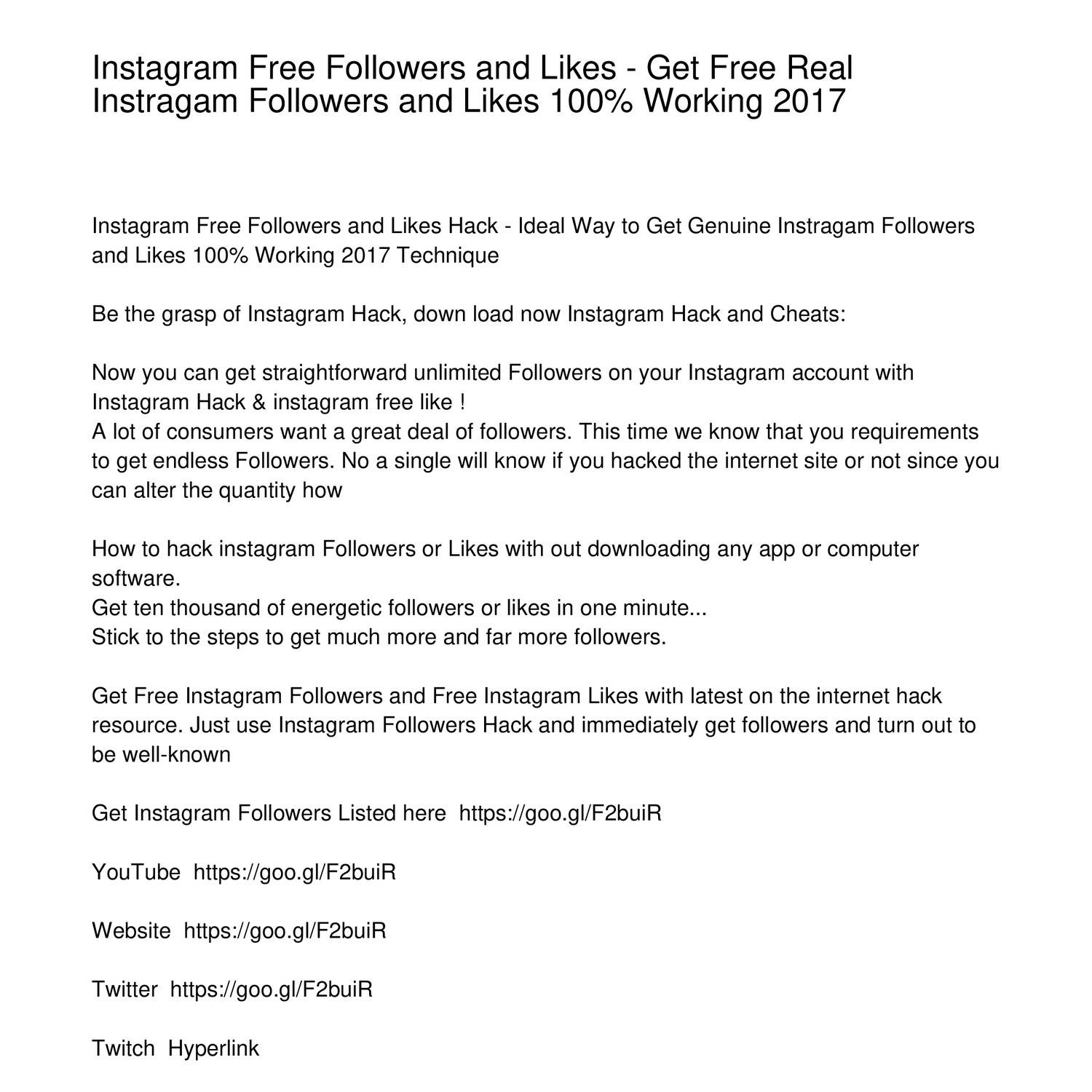 Instagram Free Followers and Likes Get Free Real Instragam