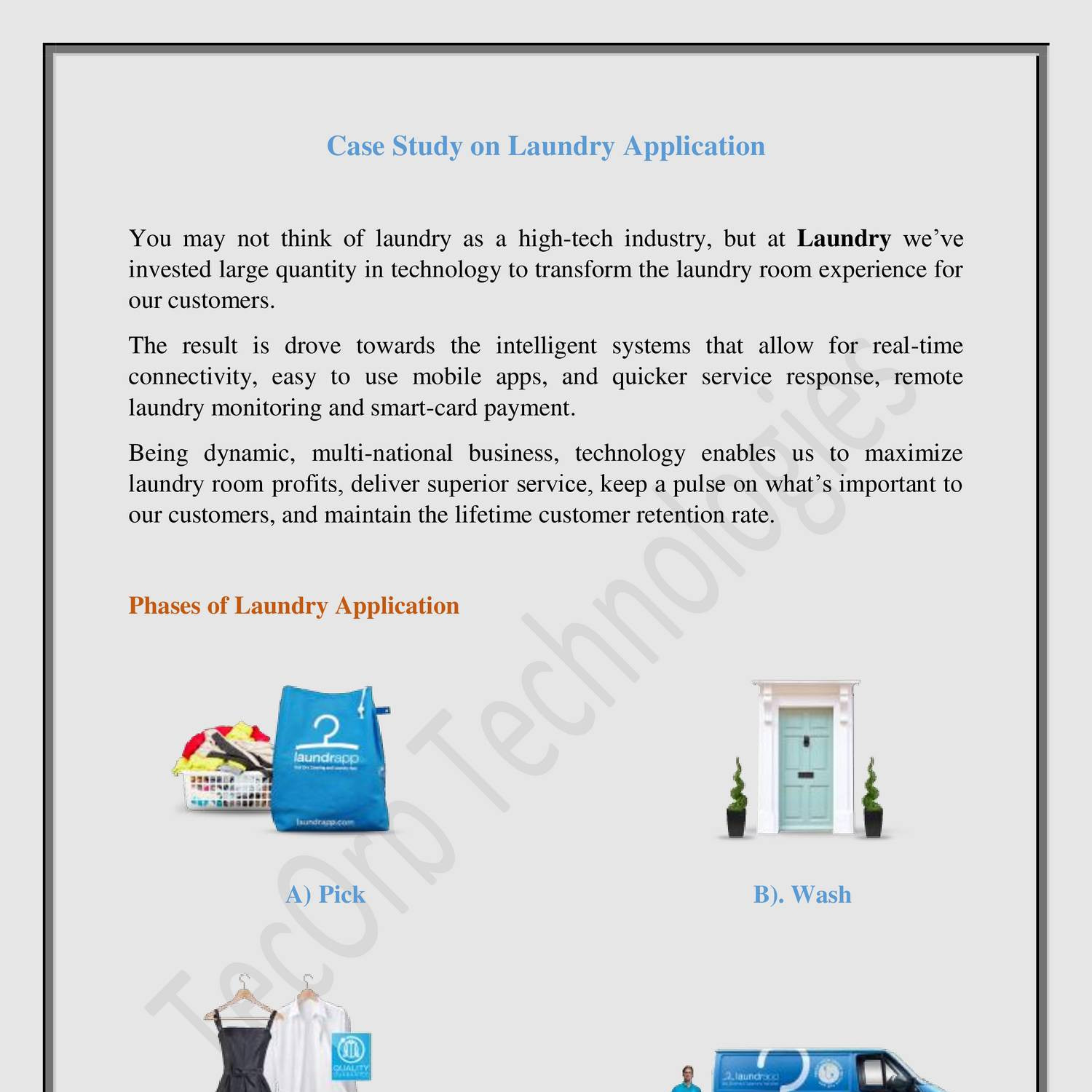 Starting a Laundry from Home – Sample Business Plan Template
