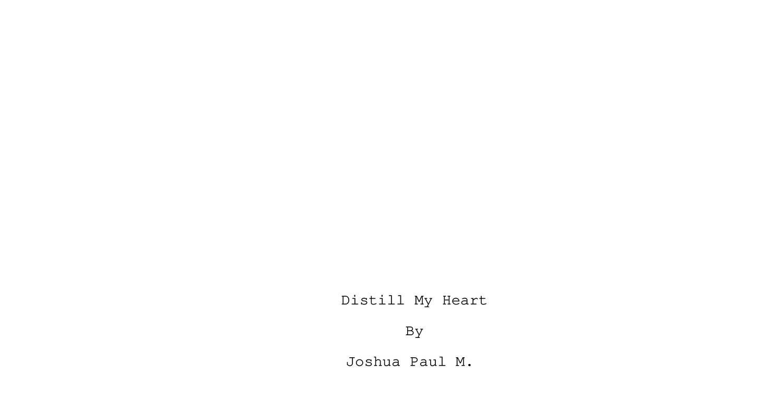 Distill My Heart pdf