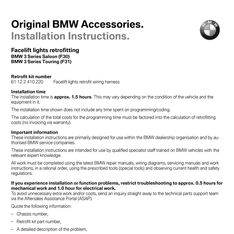Brilliant Bmw F30 Wiring Diagram Wiring Library Wiring Digital Resources Funapmognl
