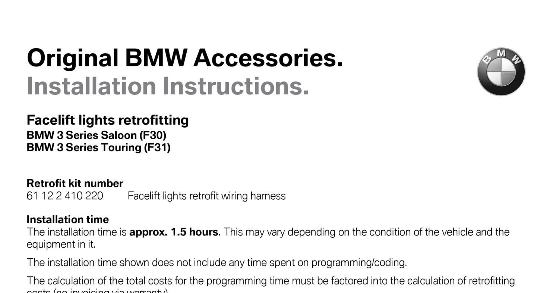 F30 Lci Rearpdf Docdroid Bmw Wiring Harness Repair Kit