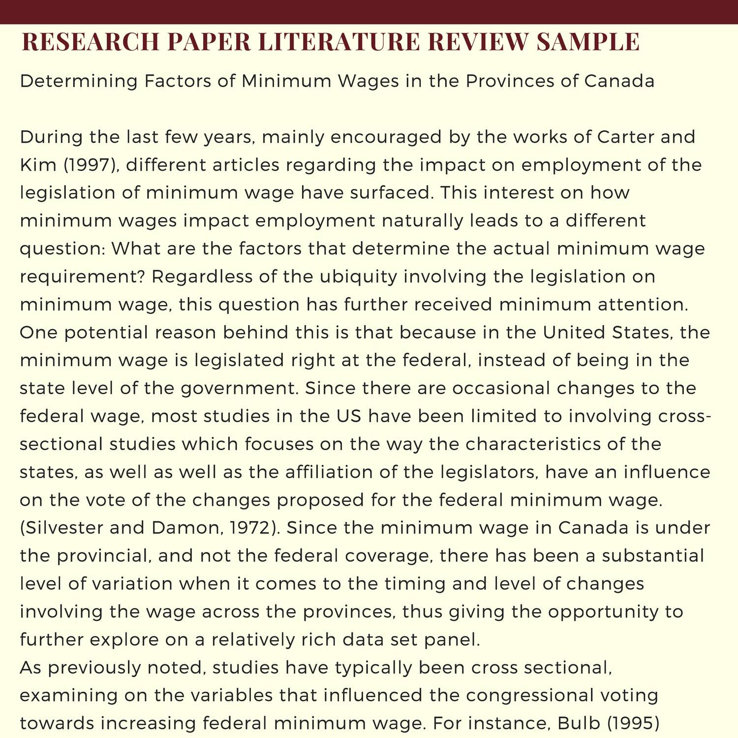 sample review of a research paper