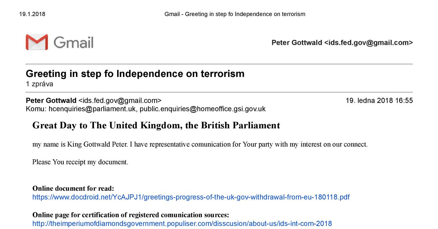 Gmail Greeting In Step Fo Independence On Terrorismpdf Docdroid