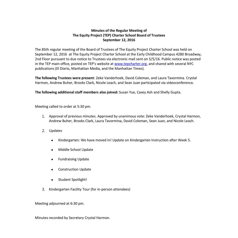 2016 BOT Meeting Minutes 9 12 16pdf