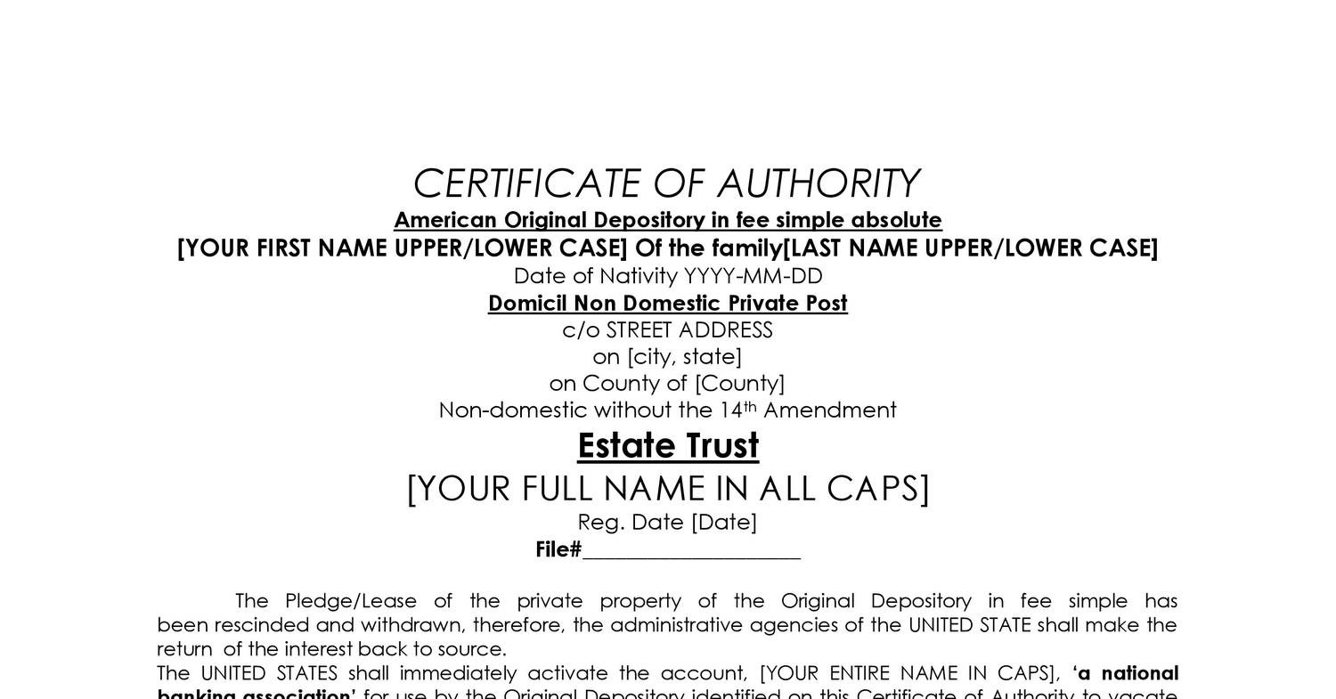 CERTIFICATE OF AUTHORITY.doc - DocDroid