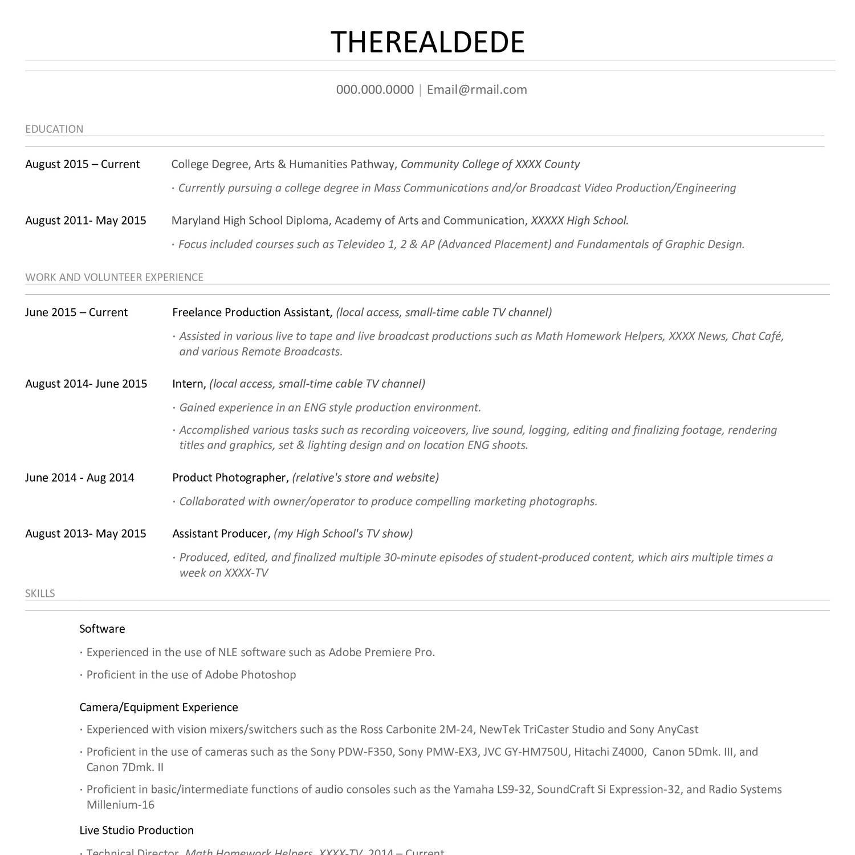 resume reddit docx