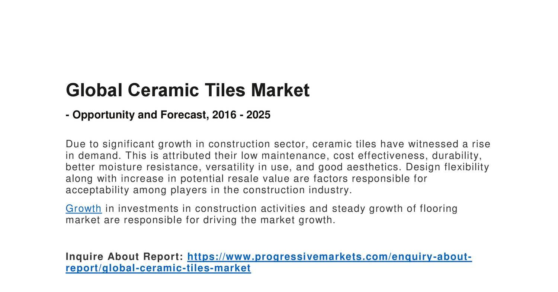 Ceramic tile market image collections tile flooring design ideas ceramic tile industry images tile flooring design ideas ceramic tile market image collections tile flooring design dailygadgetfo Images