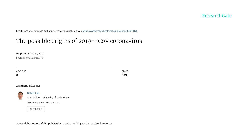 originsof2019-nCoV_XiaoB_Res.pdf