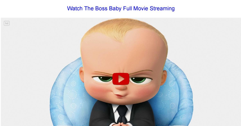baby boss full movie online