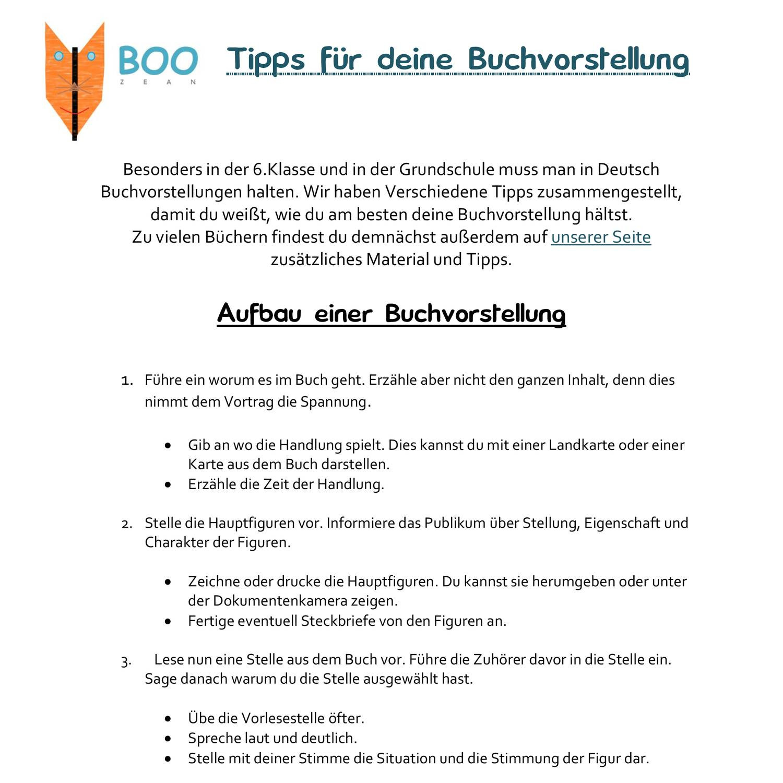 Boozean - Tipps für deine Buchvorstellung.pdf - DocDroid