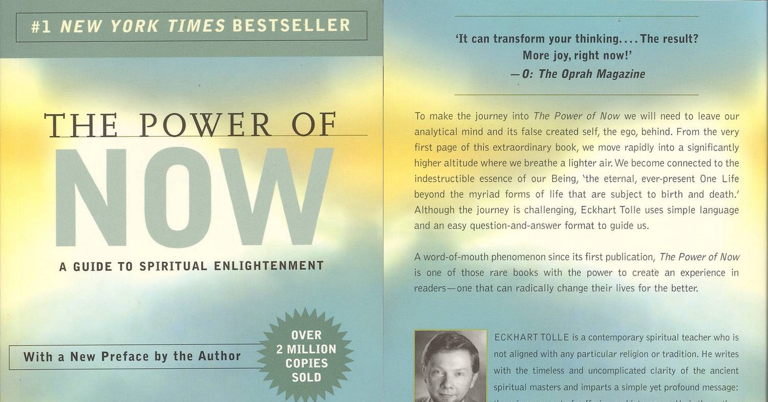 The Power of Now_ A Guide to Spiritual Enlightenment