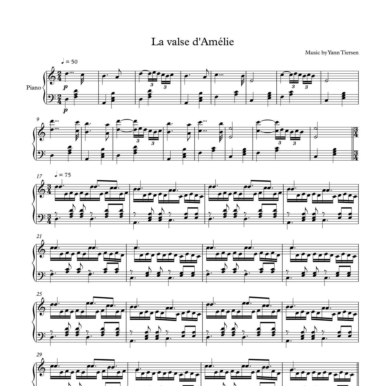 la mer sheet music pdf