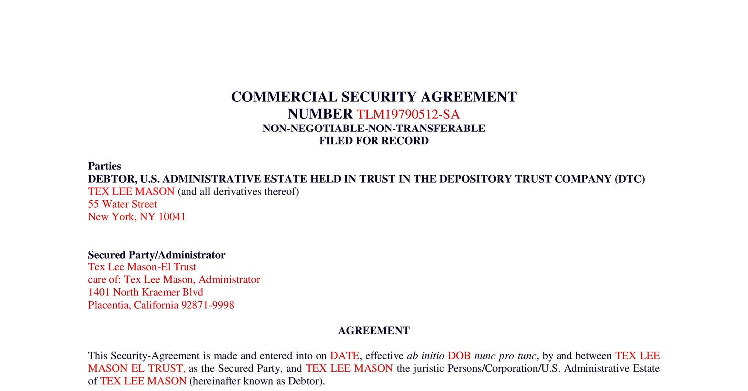 Tlm Security Agreement March 2015pdf Docdroid