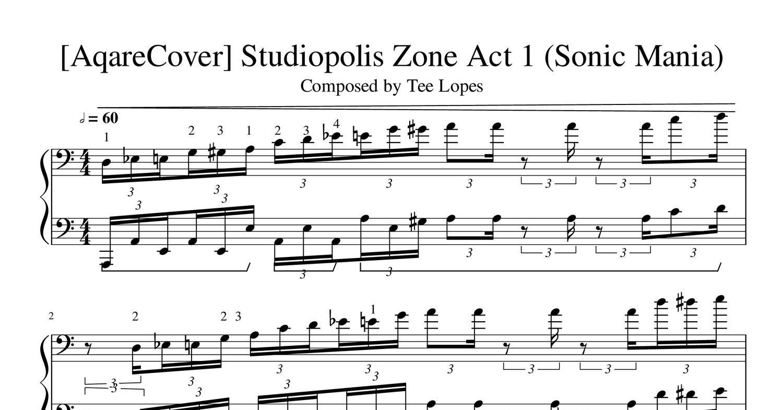 AqareCover]_Studiopolis_Zone_(Sonic_Mania) pdf | DocDroid