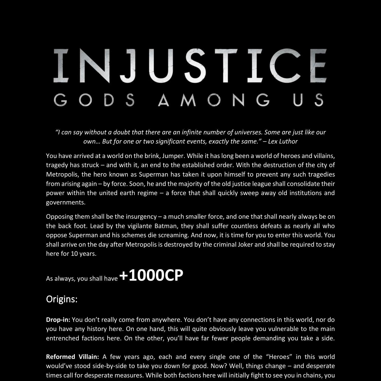 Injustice free download