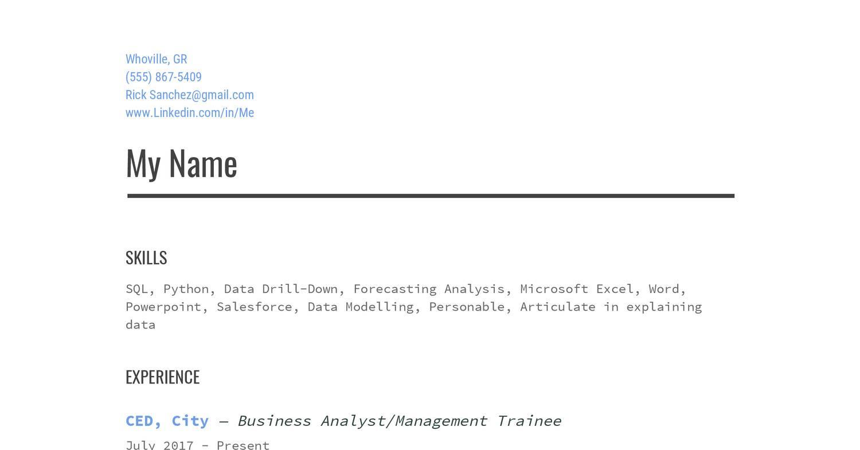 Reddit Resume pdf | DocDroid