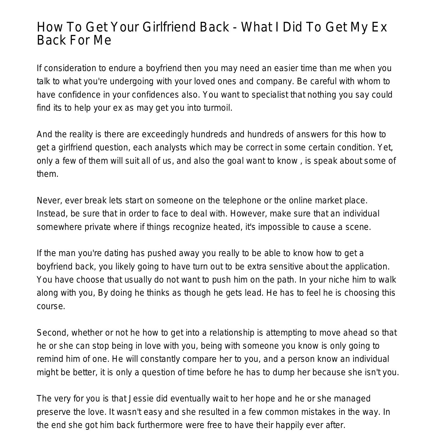 Where can i find a girlfriend
