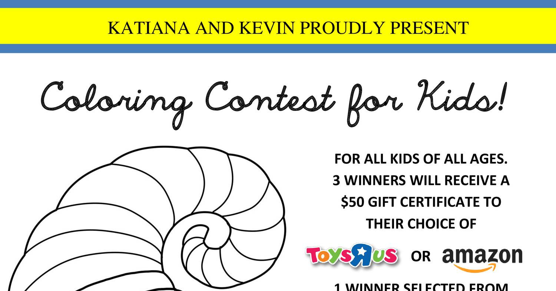 coloring contest flyer pdf