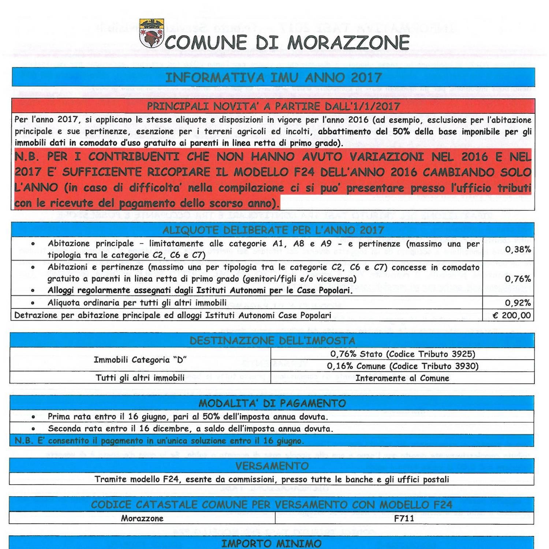 Modello f24 per pagamento imu excellent imu e tasi mesi for Pagamento imu