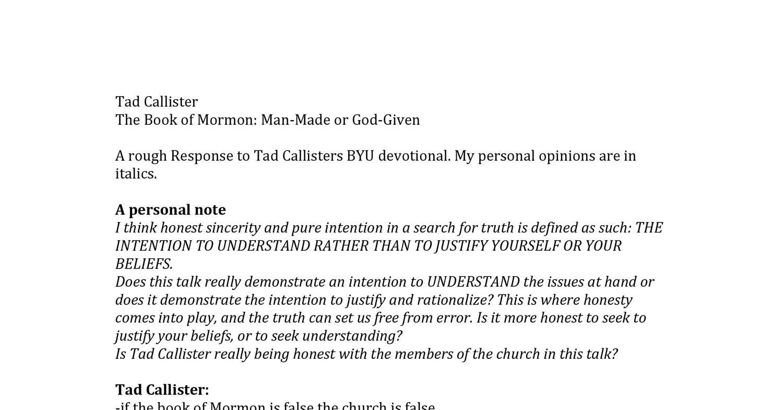 Response to tad callister bom talkpdf docdroid malvernweather Gallery
