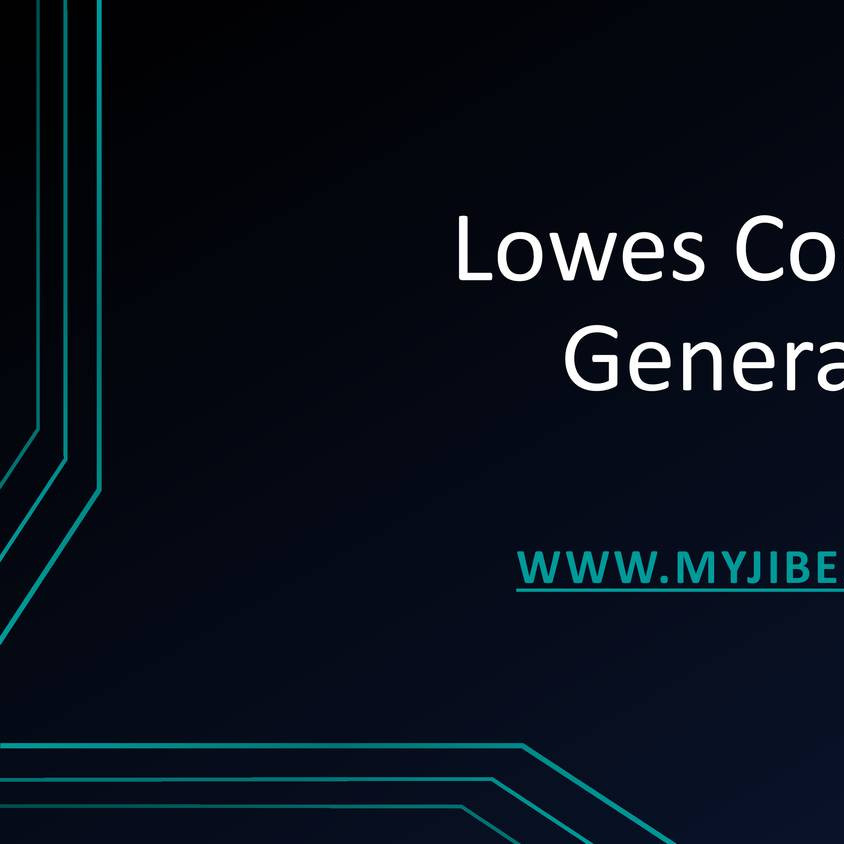 Lowes Coupons Generator pptx   DocDroid