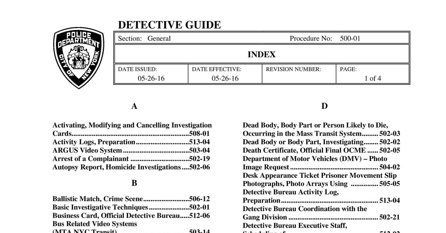 NYPD Detective Guide (05-26-16).pdf - DocDroid