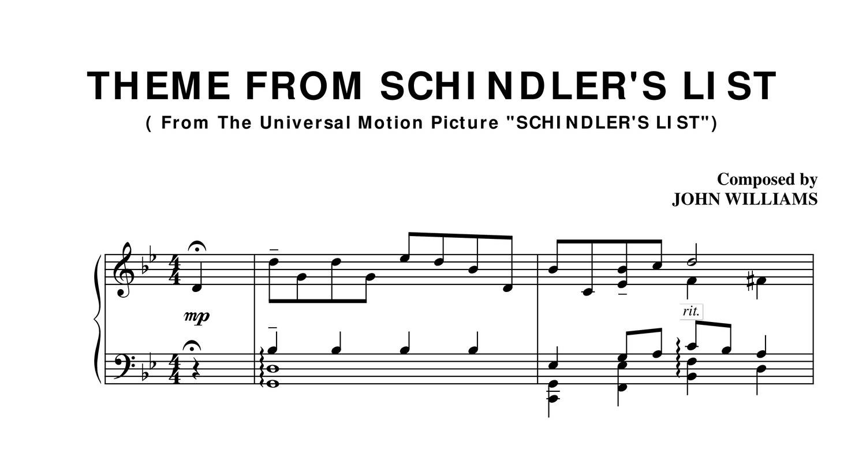 schindlers list free download