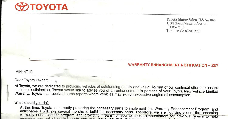 Toyota Letter Ze7 Pdf Docdroid