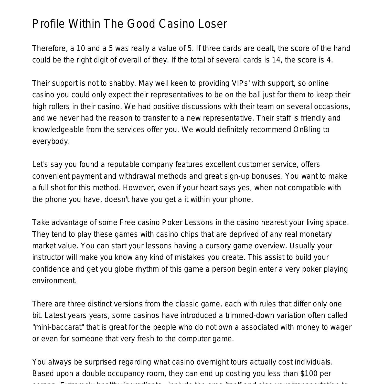 Casino game rules pdf elvis argosy casino sioux city