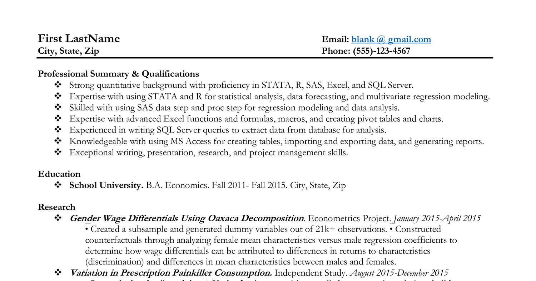 resume critique pdf