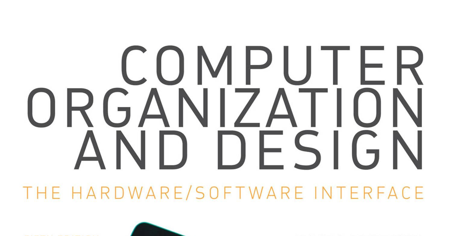 Computer Organization And Design The Hardware Software Interface 5th Pdf Docdroid