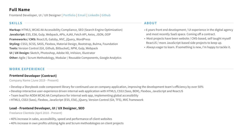 Blank Resume Pdf from www.docdroid.net