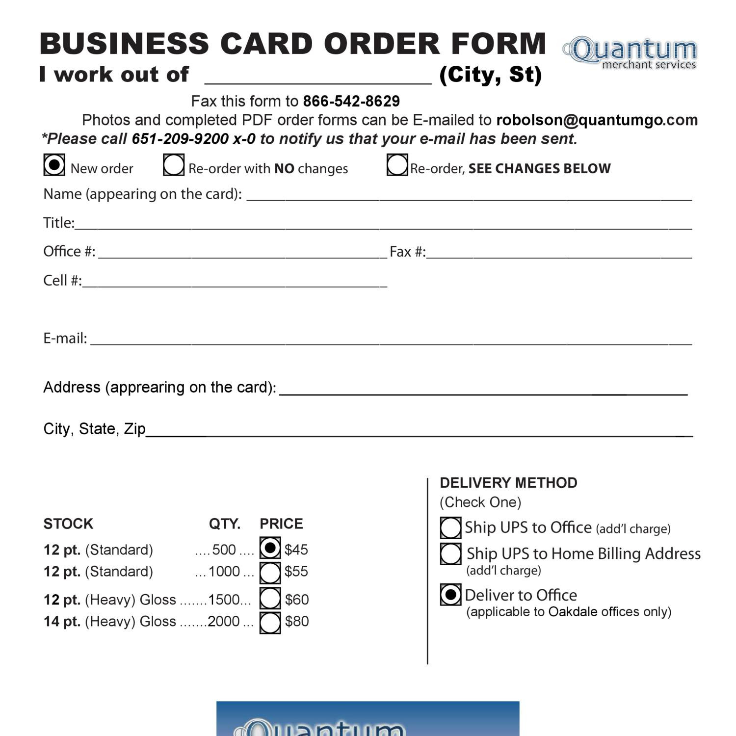 Qms business cards order formpdf docdroid colourmoves