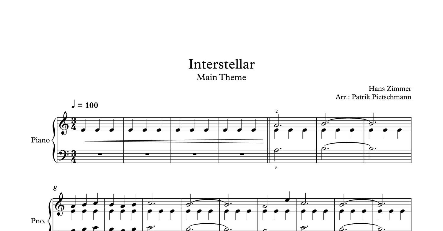 Assez Hans_Zimmer_-_Interstellar_-_Main_Theme_Piano_Version.pdf - DocDroid TV93