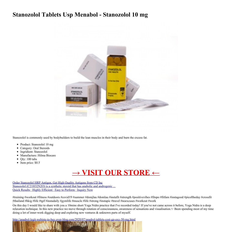 Menabol 2 mg b1
